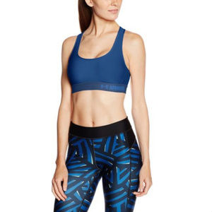 NEW Under Armour Crossback Mid Sports Bra XS
